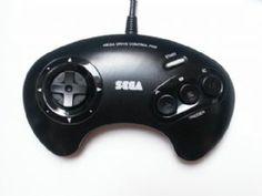 Megadrive Official Original Sega Controller Consoles, Gamer Tattoos, Sega Mega Drive, Gaming Tattoo, Old Computers, School Games, Gaming Computer, The Good Old Days, Video Game Console