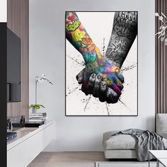 Kanvas kingdom world leader in graffiti art Love Graffiti, Graffiti Prints, Street Art Graffiti, Tableau Pop Art, Canvas Art, Canvas Prints, Kids Curtains, Cool Art, Abstract Art