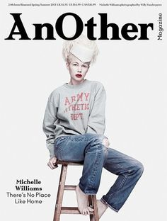 Michelle Williams by Willy Vanderperre