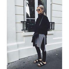 """Pin for Later: 19 deutsche Modeblogger, die man unbedingt kennen (& folgen) sollte Marina Ilic von """"Marina the Moss"""""""