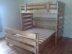 twin over queen bunk beds - Google Search/