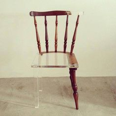 recycled chair.
