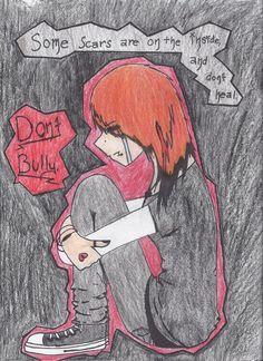 Anti-Bullying Poster Ideas   anti-bullying poster by hali6 on deviantART