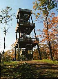 Parnell Tower County Road U, Plymouth WI Parnell Tower trail is a loop with a observation tower that rises above the treetops for a birds-eye view of the glacial landscape Sheboygan County, Oh The Places You'll Go, Places To Visit, Lakeside Park, Long Way Home, State Forest, Door County, Bike Trails, Adventure Is Out There