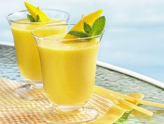 my fave Mango Smoothies