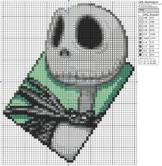 The Nightmare Before Christmas - Jack Skellington by Makibird-Stitching on DeviantArt