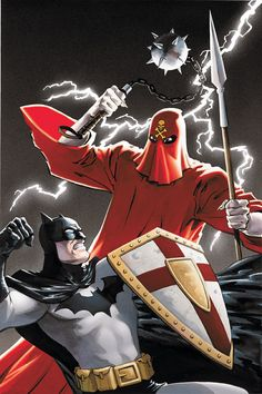 Batman and The Mad Monk by Matt Wagner Batman The Dark Knight, Batman Dark, Dragon Ball Z, Batman Kunst, Batman Universe, Dc Universe, Comic Art Community, Superhero Villains, Batman Wallpaper
