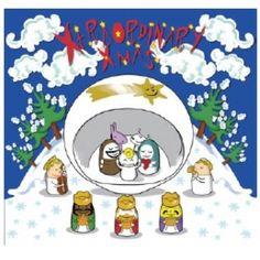Alessi kerststal set met drie wijzen en engelen band
