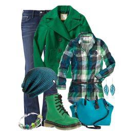 Groen-blauwcombinatie