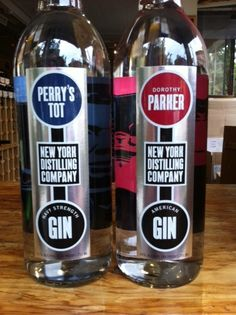 Gin...learn to drink it on the rocks. And find the Dorothy Parker pictured if possible.