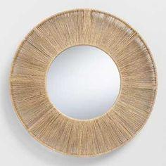 4a3f50a394f Round Chunky Silver Framed Mirror 93x93cm (OV023