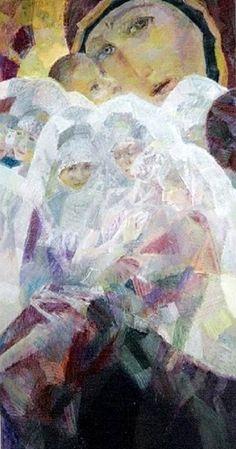 Georgy Shishkin / Les adieux, 2000. Good-byes Painting, Art, Painting Art, Paintings, Painted Canvas, Drawings