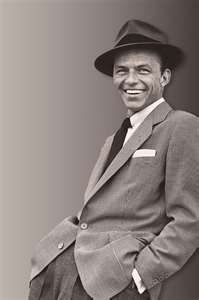 Frank Sinatra - he was all about style.