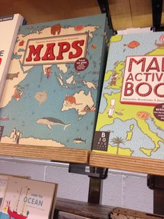 Great map book Under The Ocean, Presents, Map, Books, Travel, Gifts, Favors, Libros, Viajes