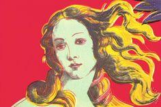 Andy Warhol Birth of Venus Red painting - Birth of Venus Red print ...
