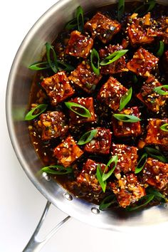 Magic Garlicky Tofu,