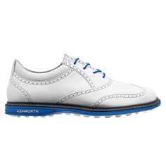 pretty nice 02d9d 1229e Unique classic-style golf shoe with spikless outsole. 8