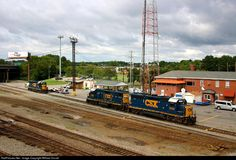 RailPictures.Net Photo: CSXT 6149 CSX Transportation (CSXT) EMD GP40-2 at Richmond, Virginia by William Duvall