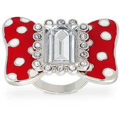 Minnie Mouse Bow Ring for Women by Disney Couture | Jewelry | Disney... ($30) via Polyvore