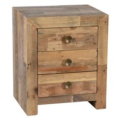 Shop for Kosas Home Hand-crafted Oscar Natural Recovered Shipping Pallets…