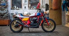 Every moto company has a golden era, centered on a bike that dominated a race series. For Honda, that was the RS750. And this CX500 is a brilliant homage.