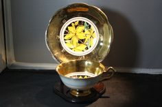 Vintage Rosina Bone China Floral Cup & Saucer. Starting at $5 on Tophatter.com!