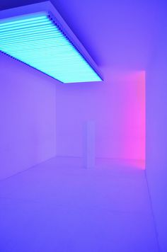Neon Art by Carlos Cruz-Diez Neon Colors, Light Colors, Therme Vals, Neon Licht, Instalation Art, Tout Rose, Neon Noir, Creation Art, Light And Space