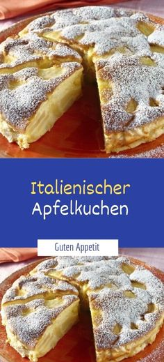Advertisement Zutaten: 250 g zucker 1 pck. Vanille-zucker 5 apfel sauer 100 g bu Gateaux Cake, Sweet Bakery, Vanilla Sugar, Easy Cake Recipes, Cakes And More, Food Cakes, Cake Cookies, Good Food, Food And Drink