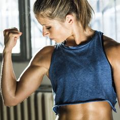 Got 4 Minutes? That& All You Need for This Upper-Body Tabata Routine Got 4 Minutes? Thats All You Need for This Upper-Body Tabata Routine Sport Fitness, Body Fitness, Fitness Tips, Fitness Motivation, Health Fitness, Fat Burning Cardio Workout, Tabata Workouts, Body Workouts, Workout Exercises