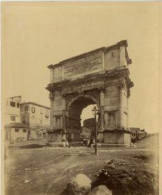 Arco di Tito (1875 ca.)
