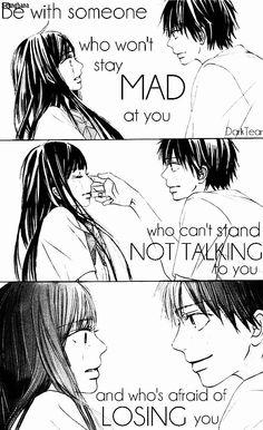 Kimi ni Todoke ♡ Anime of childhood ♡♡♡ Sad Anime Quotes, Manga Quotes, Crush Quotes, Mood Quotes, Meaningful Quotes, Inspirational Quotes, Kimi Ni Todoke, Emotion, Les Sentiments