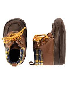 Baby Boy Carter's Hiker Boot Crib Shoes from OshKosh B'gosh. Shop clothing…
