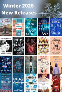 New Releases for Winter 2020 - Beyond the Bookends More than 100 new release for winter Historical fiction, fantasy, YA, thrillers, romance and contemporary fiction Good New Books, Best Books To Read, I Love Books, My Books, Reading Books, Book Club Books, Book Lists, Book Club List, Book Clubs