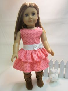 18 inch American Girl Doll Clothes  Easter by IndustriousDog
