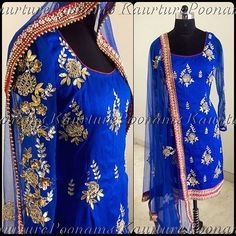 You girls loved the Udaipur lehnga so much that we customized into a beautiful suit! This piece is made on pre raw silk, paired with a net duppatta. This can be done in any colour and size, for any inquiries please see my bio for contact info **** Vancouver trunk show will be held at the Grand Taj Banquet hall in Surrey, on Sunday May 1, 3:30-6:00**** #poonamskaurture #kaurturetrunkshow