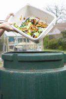 Compost bins turn kitchen scraps into a rich source of garden nutrients.