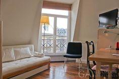 Nice cozy furnished studio at Rue de Chazelles | 17th Paris arr