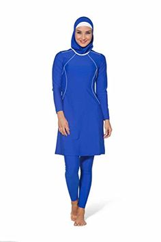 Shop Athletic Modest Swimsuit Swimwear Muslim Orthodox Free delivery and returns on all eligible orders. Modest Swimsuits, Modest Dresses, Modest Outfits, Hajib Fashion, Fashion Outfits, Muslim Swimwear, Lycra Leggings, Swimming Outfit, Thing 1