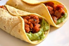 Ashley's Green Life: WIAW & Sweet Potato Burritos Recipe