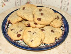 These are so easy and soft and fluffy. I was searching for the perfect recipe that stayed soft and fluffy. I never liked the Tollhouse recipe. They were never fluffy enough. I often make them without chocolate chips and roll them in sprinkles for myself. These travel so well and stay soft until the last cookie is gone. I hope you enjoy them as much as we have.