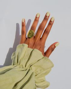 """Click through for all nail colours experts say are """"it"""" for 2021. Popular Nail Colors, Cute Nail Colors, Nail Polish Colors, Navy Nails, White Nails, Manicure At Home, Diy Manicure, How To Do Nails, Fun Nails"""