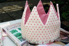 birthday crown by cupcakes for clara