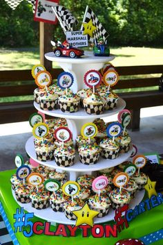 """Photo 1 of 52: Super Mario Brothers / Mario Kart Wii / Birthday """"Super Marshall Brothers Birthday Party """" 