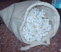 I've posted before about making microwave popcorn in paper bags and it works great, but it does waste bags. Today I experimented with making a muslin bag for popping corn that could be re-used. I checked around online and couldn't...