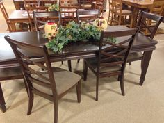 """Maysville Counter Height Dining Room Table with (4) 24"""" Barstools ..."""
