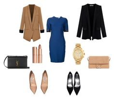 варианты by angry-an on Polyvore featuring мода, Thierry Mugler, Jimmy Choo, Yves Saint Laurent, MANGO, Michael Kors and Charlotte Tilbury