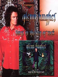 """Glenn Hughes """"Songs In The Key Of Rock"""" ~ promo flyer ~ June 2003"""