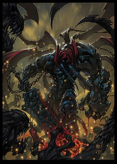 Darksiders artwork by the game creative director and comic book artist Joe Madureira.
