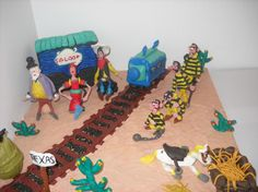 Lucky Luke- Plasticine Art
