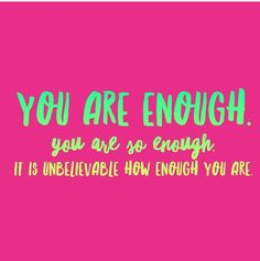 You are PERFECT just the way you are so celebrate YOU today! The Way You Are, You Are Perfect, Cheerleading Quotes, Dear Self, You Are Enough, Pick Me Up, Cute Wallpapers, Workout Quotes, Neon Signs